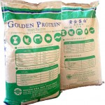 Golden Protein paper bag picture